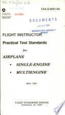 Flight Instructor Airplane