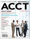 Cover of Managerial ACCT2
