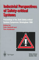 Industrial Perspectives Of Safety Critical Systems Book PDF