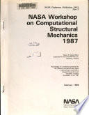 NASA Workshop on Computational Structural Mechanics 1987  Part 3