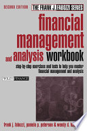 Financial Management and Analysis Workbook