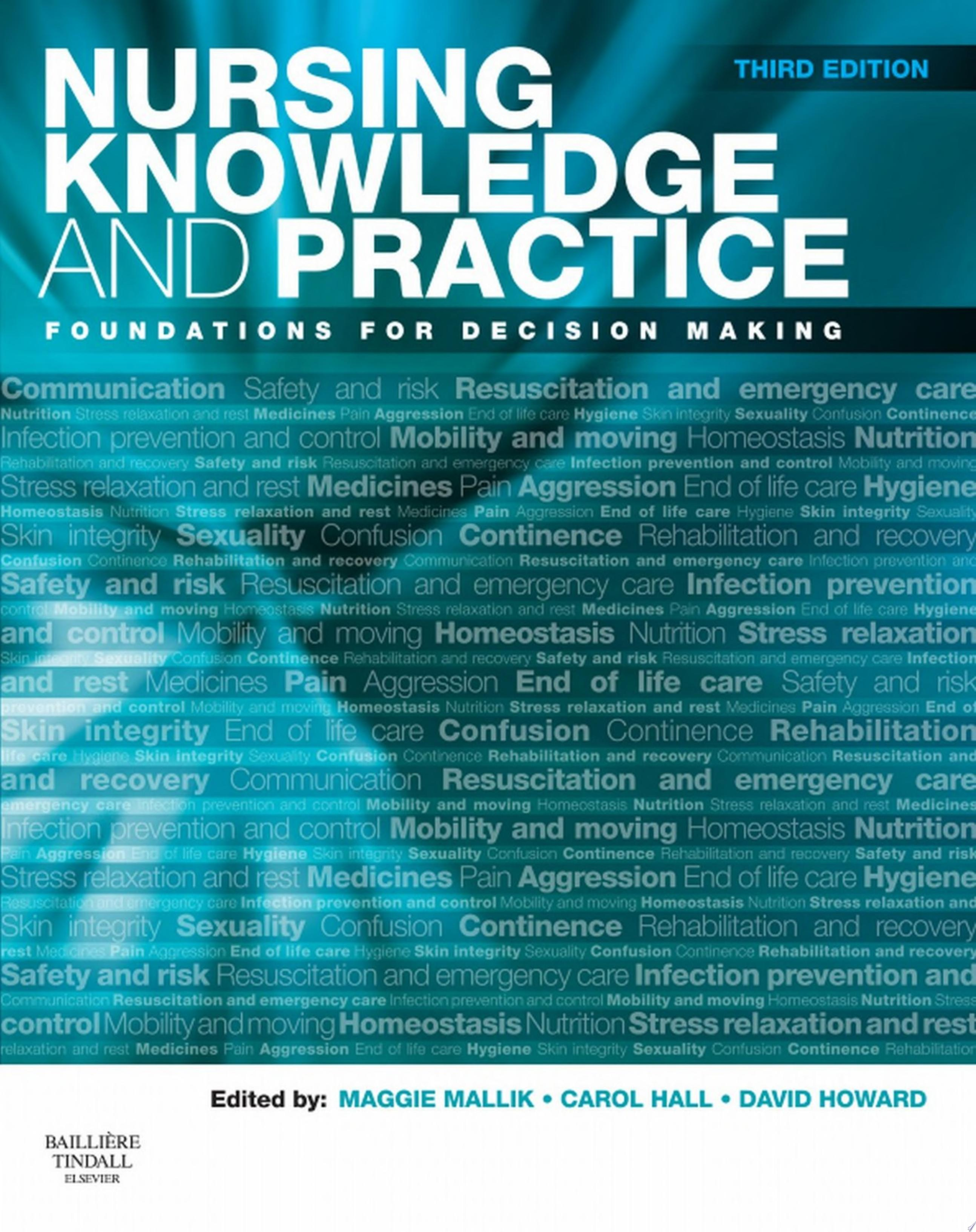 Nursing Knowledge and Practice E Book