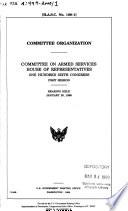 Committee Organization