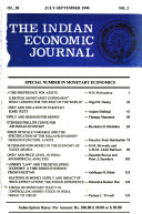 The Indian Economic Journal