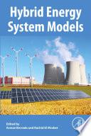 Hybrid Energy System Models Book
