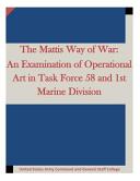 The Mattis Way of War