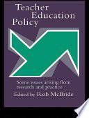 Teacher Education Policy Book