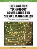 Information Technology Governance and Service Management: Frameworks and Adaptations Pdf/ePub eBook