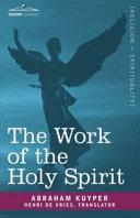 The Work of the Holy Spirit Pdf/ePub eBook
