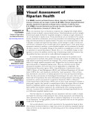 Rangeland Monitoring Series  Visual Assessment of Riparian Health