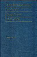 The Development of Celtic Linguistics  1850 1900  Gomer  parts 1 and 2