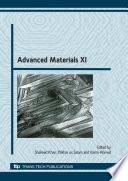 Advanced Materials XI