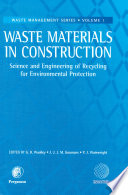 Waste Materials in Construction Book