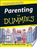"""Parenting For Dummies"" by Sandra Hardin Gookin, Dan Gookin, May Jo Shaw, Tim Cavell"