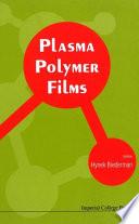 Plasma Polymer Films Book PDF