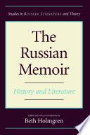 The Russian Memoir