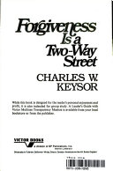 Forgiveness is a Two way Street