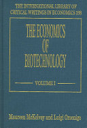 The Economics of Biotechnology