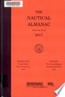 The Nautical Almanac for the Year     Book PDF