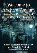 Welcome to Arkham Asylum Pdf/ePub eBook