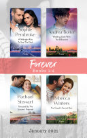 Forever Box Set Jan 2021 A Midnight Kiss To Seal The Deal Wedding Date With The Billionaire Tempted By The Tycoon S Proposal The Greek S Secre
