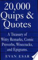 20 000 Quips   Quotes
