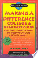 Making a Difference College and Graduate Guide