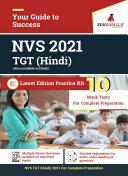 NVS TGT Hindi 2021   10 Mock Test For Complete Preparation