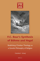 F. C. Baur's Synthesis of Böhme and Hegel