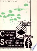 Command, control, and support of Special Forces operations