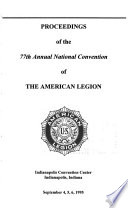 Proceedings Of National Convention Of The American Legion