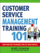 Customer Service Management Training 101