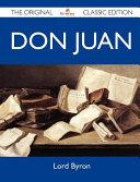 Don Juan   The Original Classic Edition