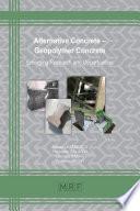 Alternative Concrete – Geopolymer Concrete