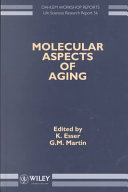 Molecular Aspects of Aging Book