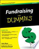 """Fundraising For Dummies"" by John Mutz, Katherine Murray"