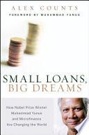 Small Loans  Big Dreams Book