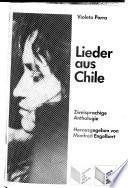 Lieder aus Chile  : zweisprachige Anthologie