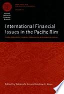 International Financial Issues in the Pacific Rim Pdf/ePub eBook