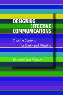 Designing Effective Communications