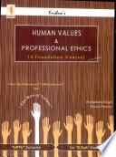 Human Values Professional Ethics