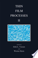 Thin Film Processes II