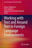 Working with Text and Around Text in Foreign Language Environments