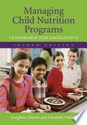 Managing Child Nutrition Programs Book