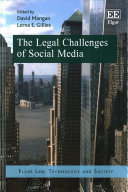 The Legal Challenges of Social Media Book