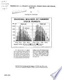 Trends In U S Peanut Acreage Production And Usage 1947 65