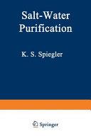 Salt Water Purification