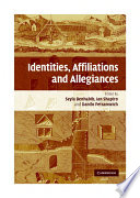 Identities Affiliations And Allegiances