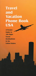 Travel and Vacation Phone Book USA