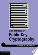 Mathematics Of Public Key Cryptography